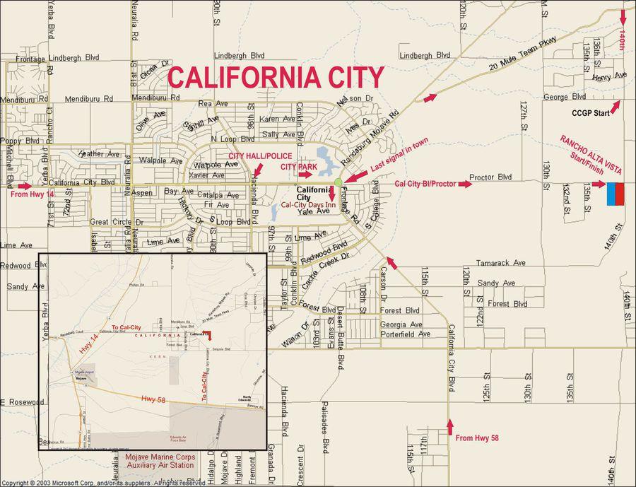 Alta Vista Events - OFF-ROAD & DIRT RACING - DIRECTIONS on